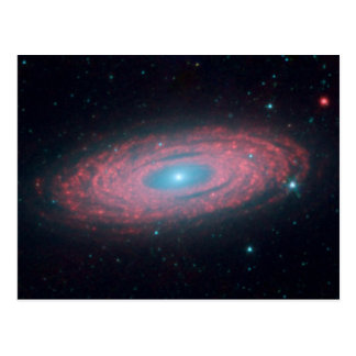 Why Are Galaxies So Smooth Postcard