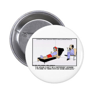 Why Cartoonists Retire Funny Tees Cards Mugs Gifts Pins