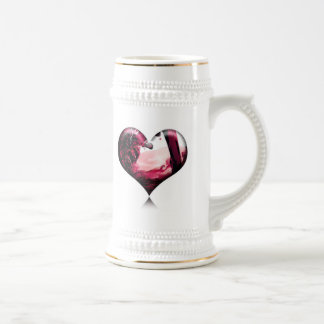 why cry over spilled wine... 18 oz beer stein
