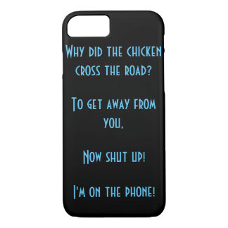 Why did the chicken actually cross the road? iPhone 7 case