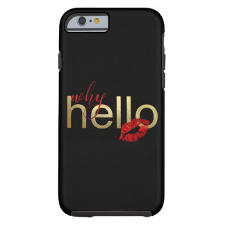 """""""WHY HELLO"""" WHIMSICAL IPHONE CASE"""