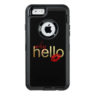 """WHY HELLO"" WHIMSICAL IPHONE CASE"