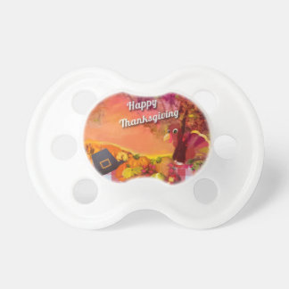 Why is the turkey hiding pacifier