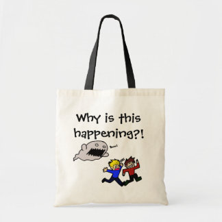 why is this happening canvas bags