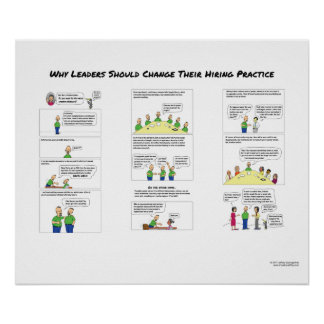 Why Leaders Should Change Their Hiring Practice Poster