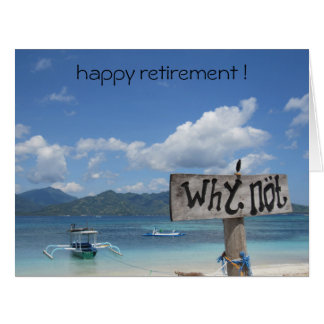 why not retire card