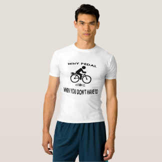"""Why pedal"" active tops for men"