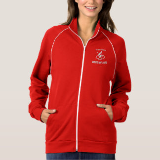 """Why pedal"" custom jackets for women"