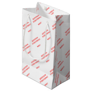 WHY SMALL GIFT BAG