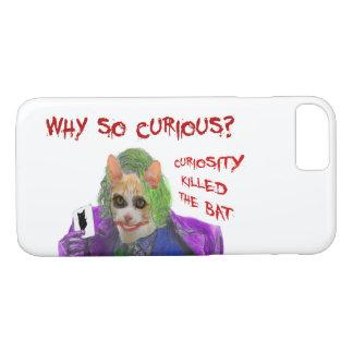 Why so Curious? - Crazy Clown Cat Case-Mate iPhone Case