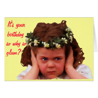 Why So Glum? Card