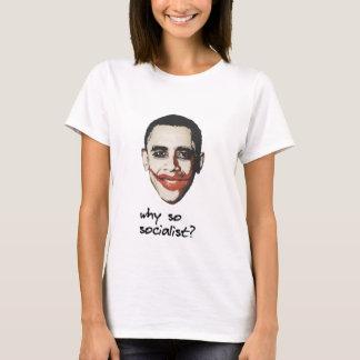 Why so socialist bumper sticker black T-Shirt