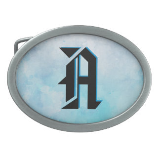 Why stand ye gazing up into heaven belt buckle