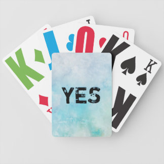Why stand ye gazing up into heaven bicycle playing cards