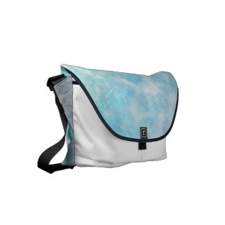 Why stand ye gazing up into heaven messenger bag