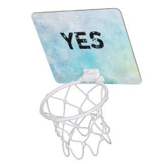 Why stand ye gazing up into heaven mini basketball hoop