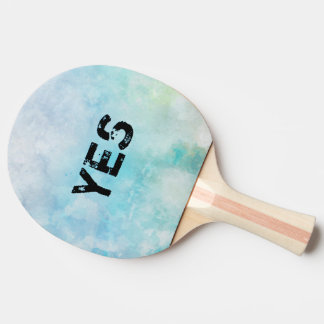 Why stand ye gazing up into heaven ping pong paddle