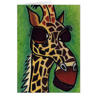 Why the Long Neck?  by Robyn Feeley Card