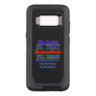 Why We Resist. For Amerca OtterBox Defender Samsung Galaxy S8 Case