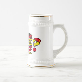 WHY YOU DON'T SHUT UP YOURSELF? BEER STEIN