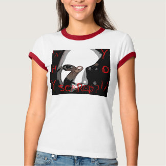 WHY YOU SCARED? Womens T-Shirt
