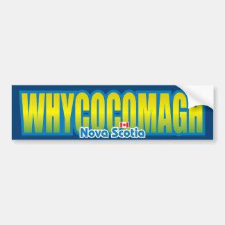 Whycocomagh Bumper Bumper Sticker