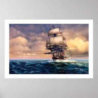 Whydah Gally Historic Ship Painting Art Print