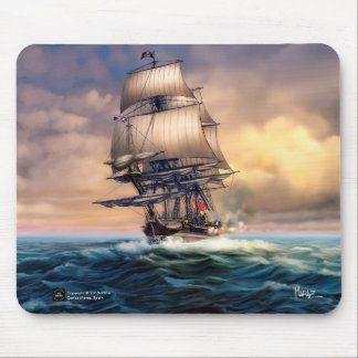 Whydah Gally Historic Ship Painting Gift Mousepads