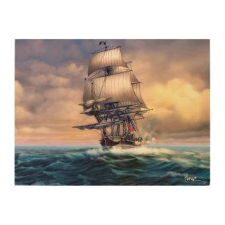 Whydah Gally Historic Ship Wood Wall Print Wood Prints