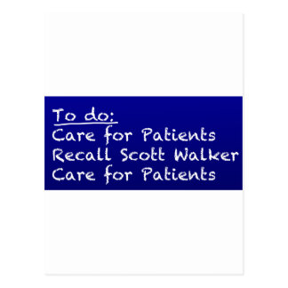 WI-Nurse-to-do Postcard