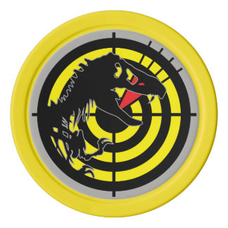 WIC Poker Chip - Jurassic Patch Edition
