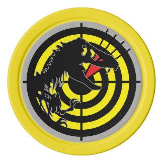 WIC Poker Chip - Jurassic Patch - J Edition