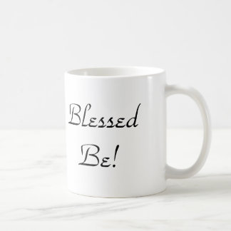 Wicca Blessed Be Pentacle Tree Coffee Mug