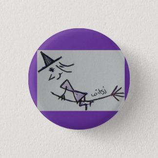 wicca kids 1 inch round button