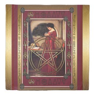 Wicca Pentacle Duvet