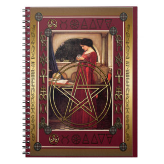 Wicca Pentacle Notebook