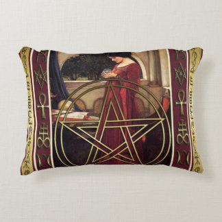 Wicca Pentacle Pillow Case