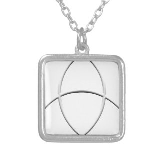 Wicca Protection Silver Plated Necklace