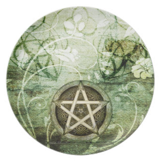 Wicca Rustica: Woodland Pentacle Plate