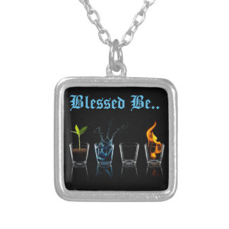 Wiccan Blessed Be necklace