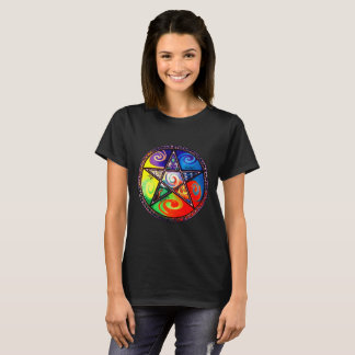 Wiccan Five Elements T-Shirt