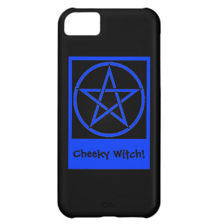 Wiccan iphone 5 case with Pentacle by Cheeky Witch