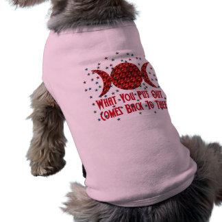 Wiccan Karma Pet Clothing