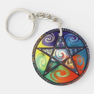 Wiccan Keychain - 1
