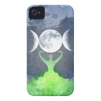 Wiccan Mother Earth Goddess Moon Case-Mate iPhone 4 Cases