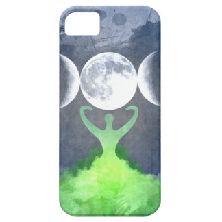 Wiccan Mother Earth Goddess Moon iPhone 5 Covers