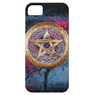 Wiccan Pagan Pentagram Alter Cloth iPhone 5 Cases