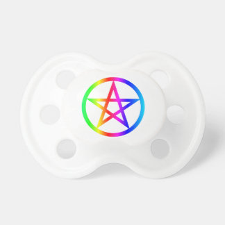 Wiccan (Pentacle) Symbol Pacifiers