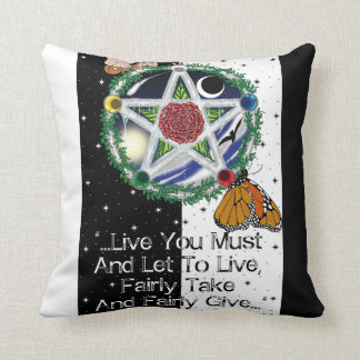 Wiccan Rede Pillows