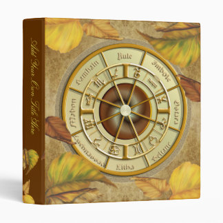"""Wiccan Wheel of the Year 1"""" Avery Binder"""